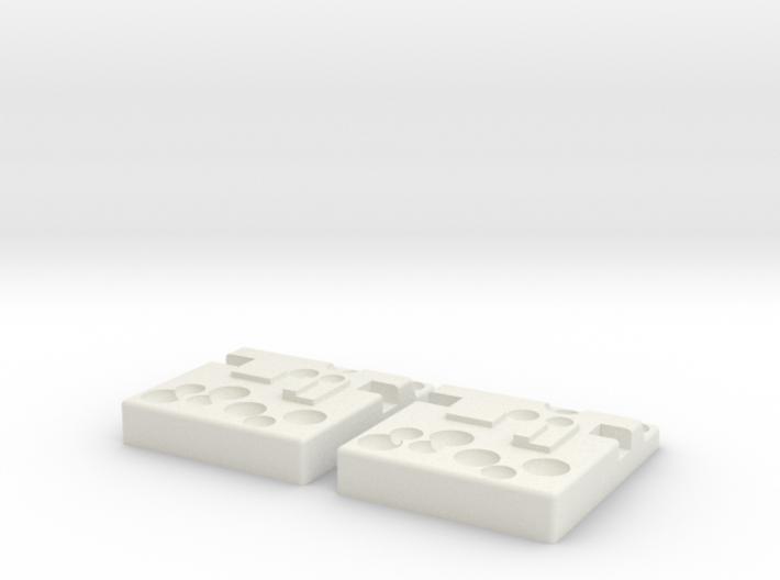 AT-AT Domino V2 x2 3d printed