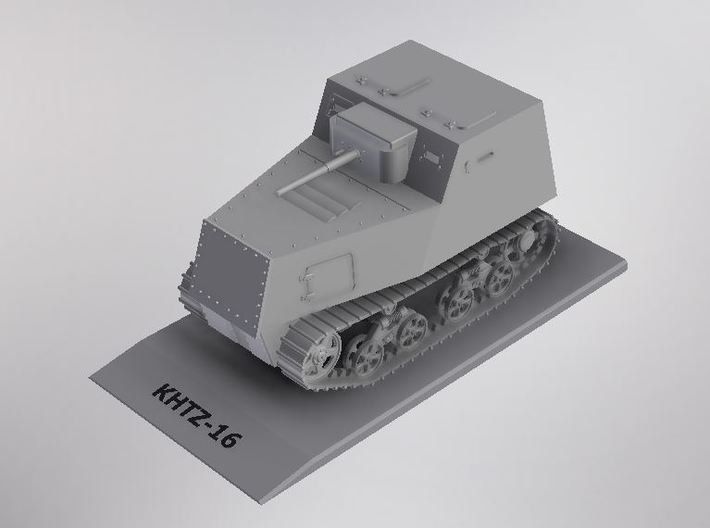 1/72nd scale KHTZ-16 soviet armoured tractor 3d printed