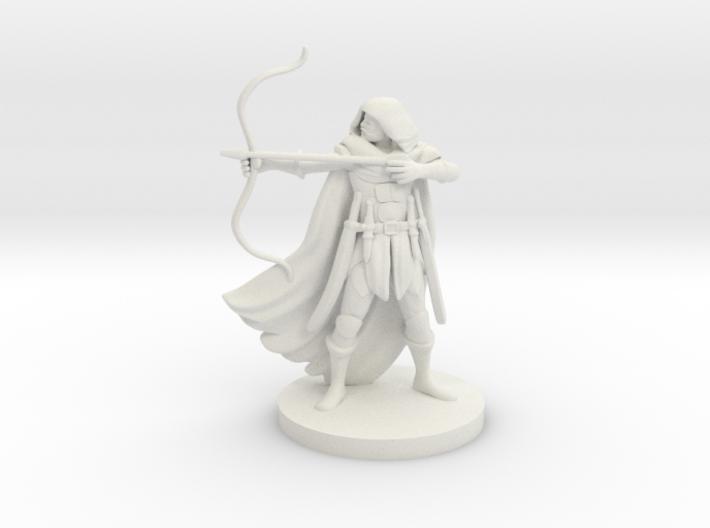 Human Male Ranger 3d printed
