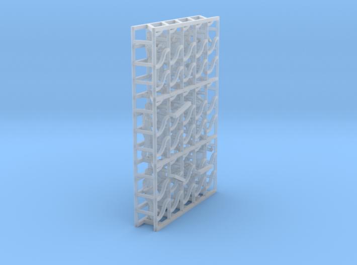 1/144 USN Carrier Deck Pushers Set301 3d printed