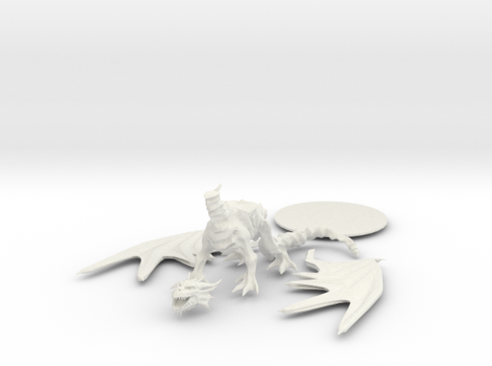 Dracolich 3d printed