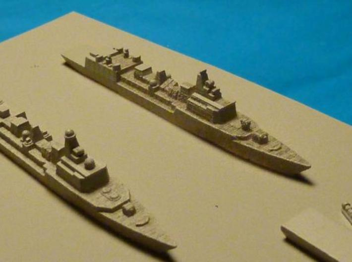 051B & 051C PLAN Destroyers 1:3000 x2 3d printed Photo of painted 051b & 051c