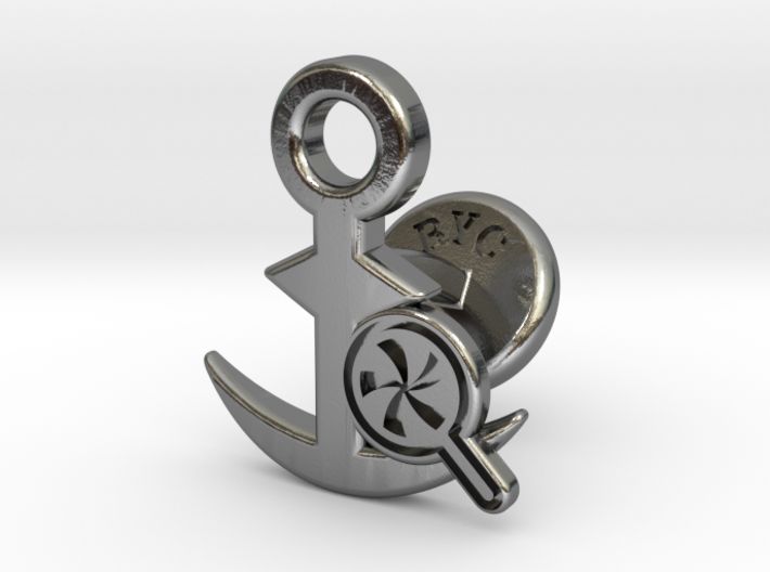 Cufflinks - Do your Rubesty! 3d printed
