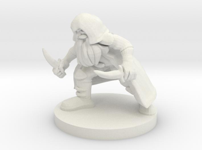 Dwarf Rogue 3d printed