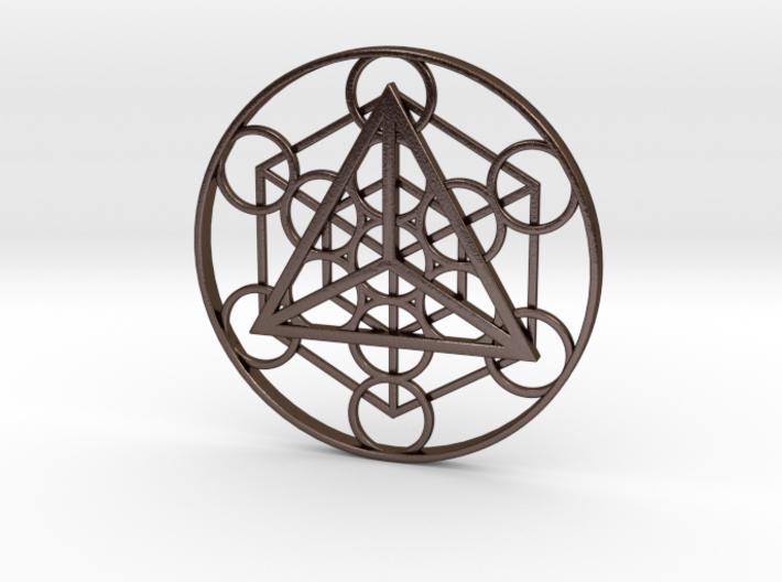 Metatron's Cube - Tetrahedron 3d printed