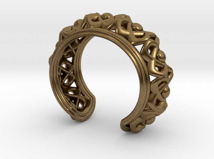 "Bracelet ""Wreath"" 3d printed"