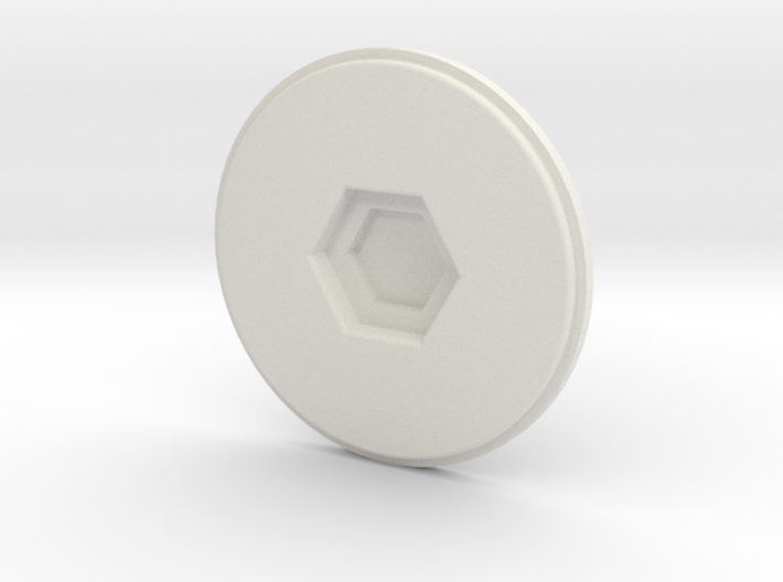 cup lid and cup pad 3d printed