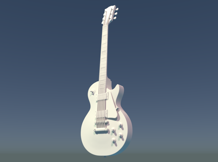 Gibson Les Paul, Scale 1:6 3d printed