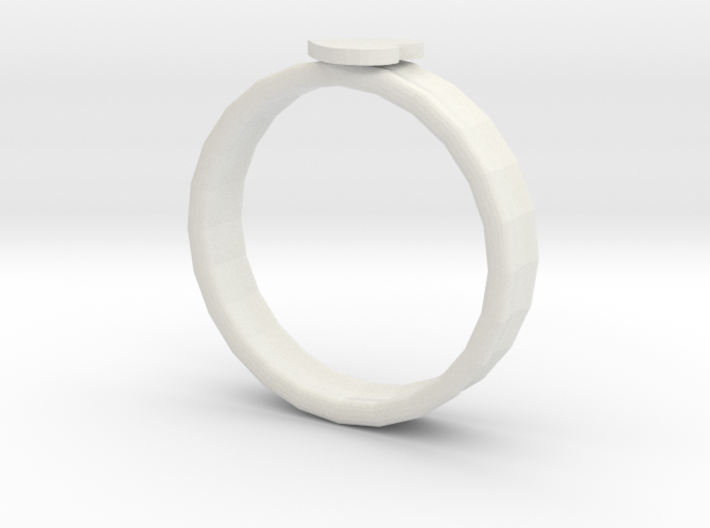 heart shape ring 3d printed