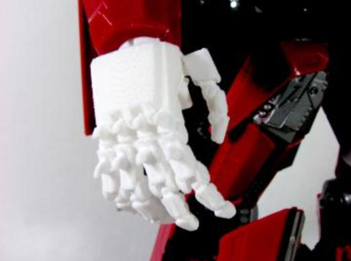 DOTM Leader Sentinel Prime hands (movie acc.)  3d printed knuckle spikes.