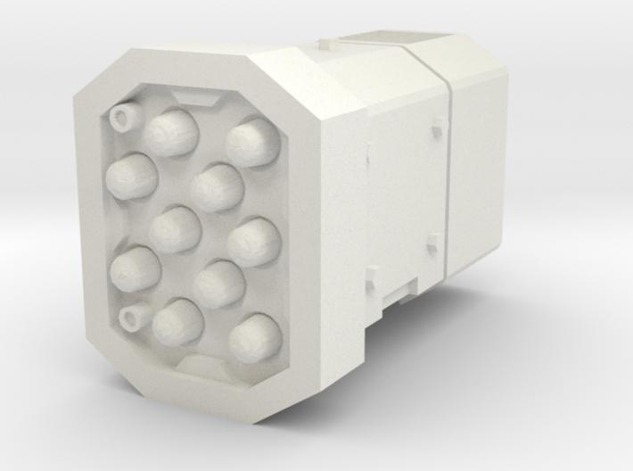 MK1 Shrike Turret Round missile pod Right 3d printed