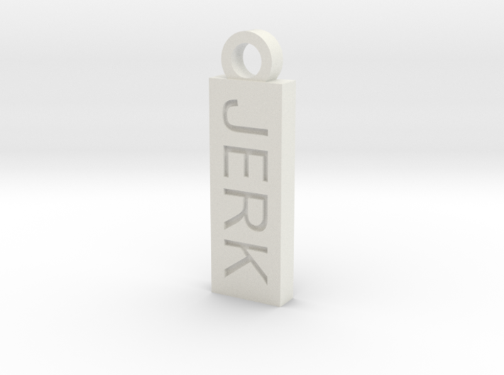 Jerk Bitch Reversible Charm 3d printed