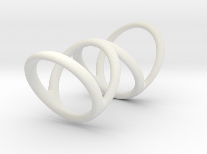 Left ring (camallama) 3d printed