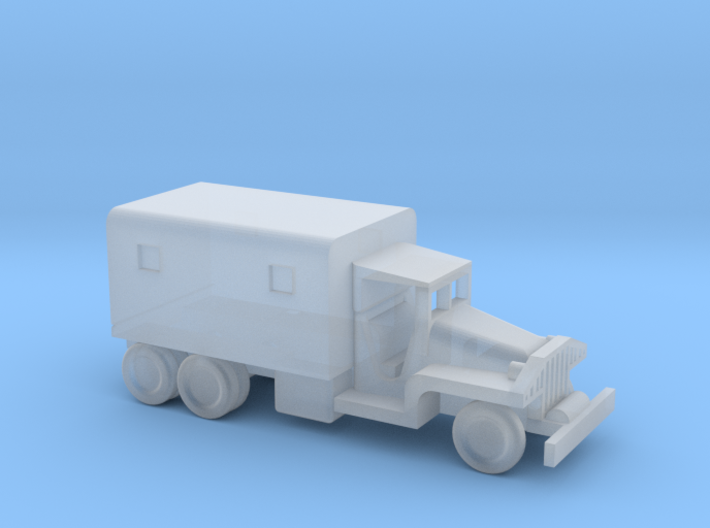 1/245 Scale CCKW Box Truck 3d printed