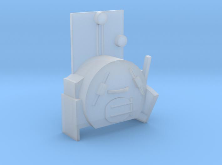 Dolgoch Backhead Detail 3d printed
