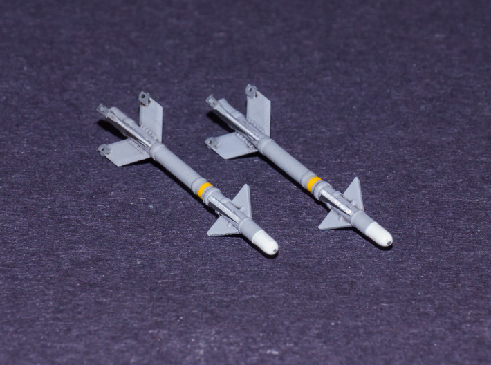 V3S Snake Air-to-Air Missile 3d printed V3S Snake Air-to-Air Missile (1/72)