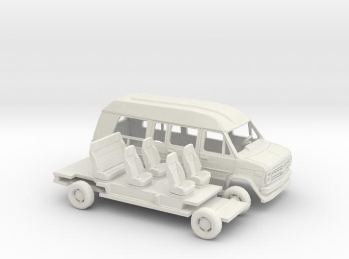 1/43 1988 Chevrolet G Van Conversion Kit 3d printed