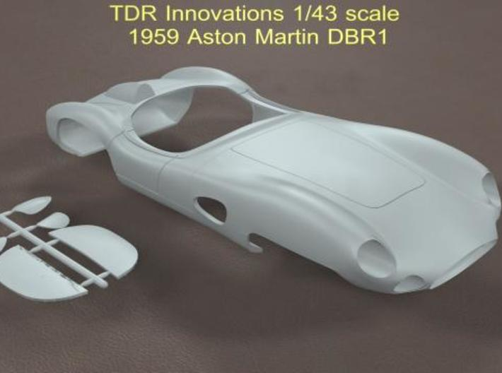1/43 Aston Martin DBR1 3d printed Description
