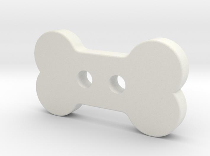 Bone Button 3d printed