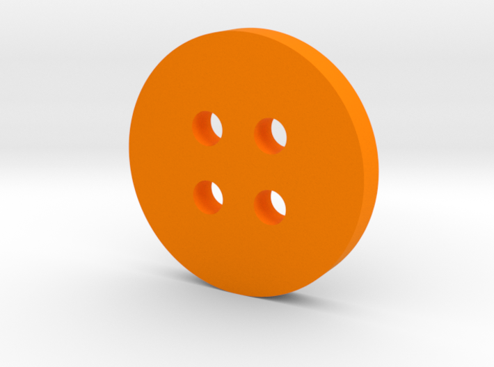 Simple Circle Button 3d printed
