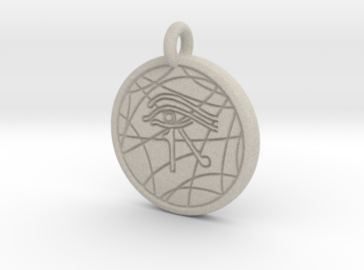 Stargate Eye of Ra pendant / necklace 3d printed