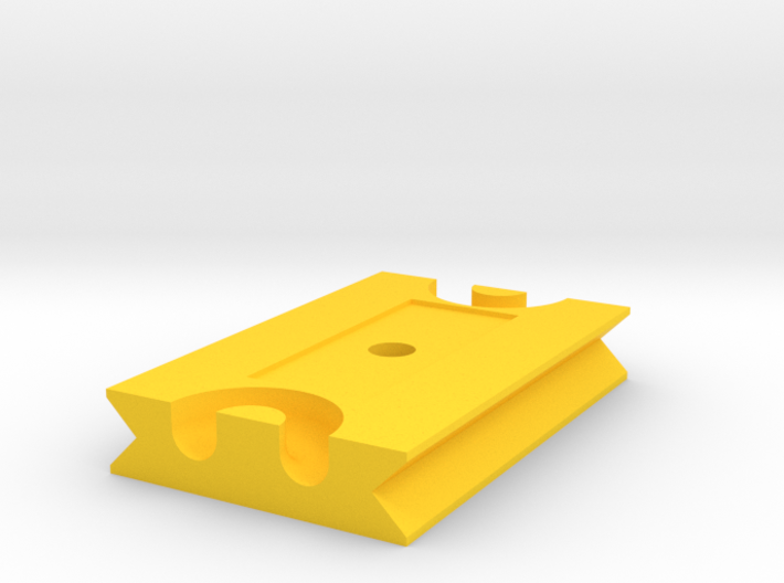 Tetherplate 60mm for DSLR camera's 3d printed