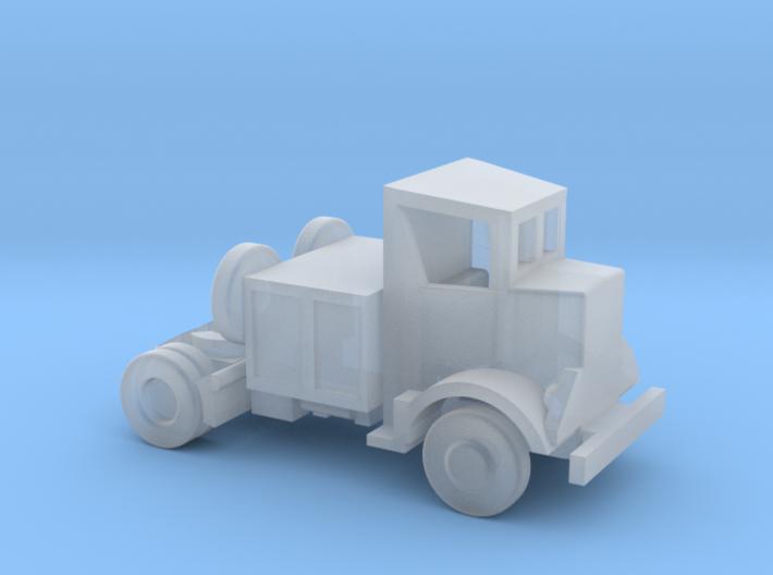 1/144 Scale Autocar Tractor U-8144T 3d printed