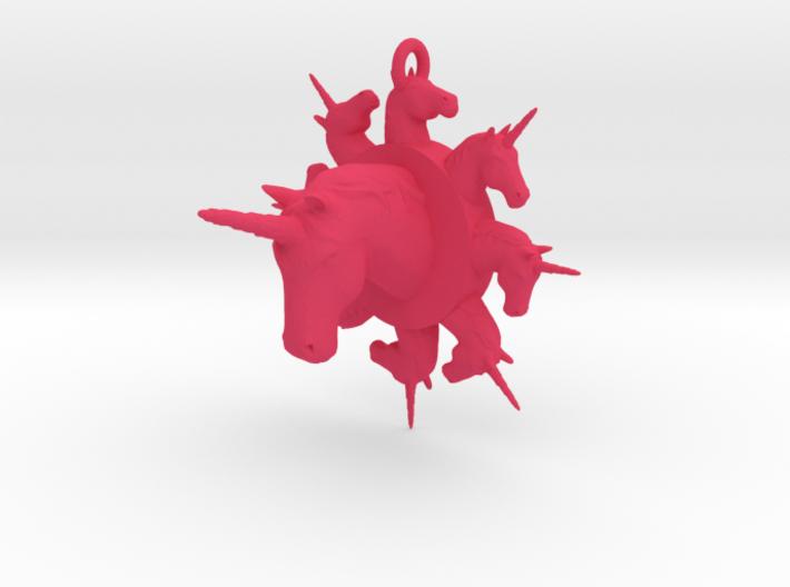 many unicorn pendant 3d printed
