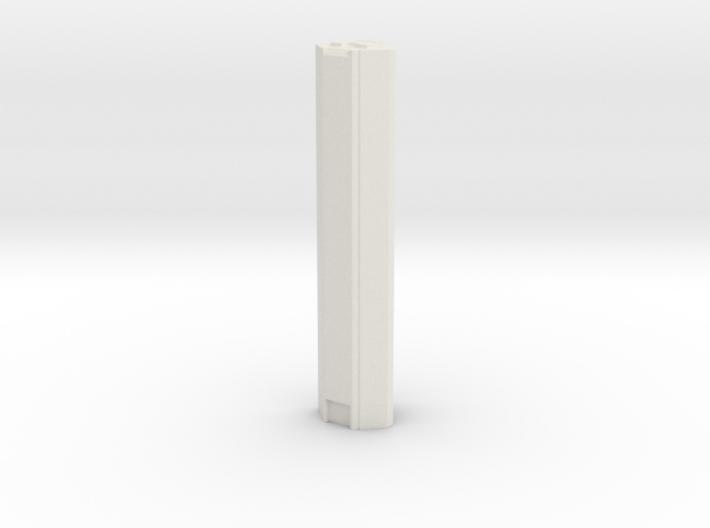 JP Morgan Chase Tower - Houston (1:4000) 3d printed