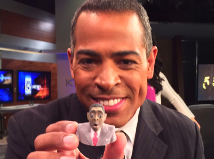 Chris Schauble Wobble 3d printed