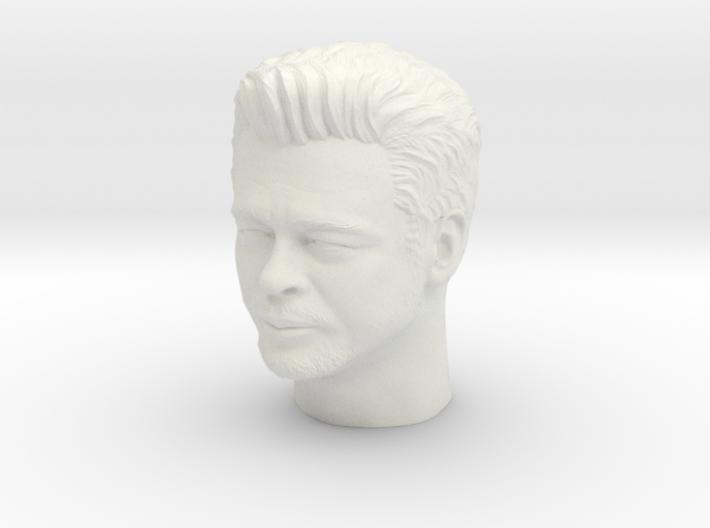 Benicio Del Toro portrait head  3d printed