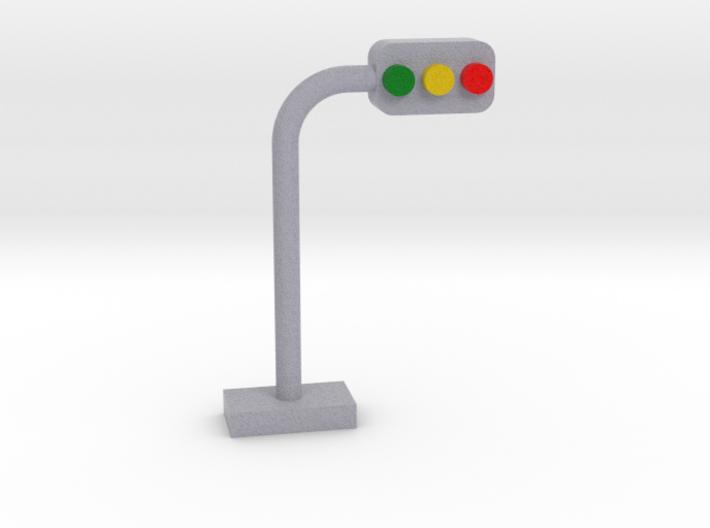 traffic light 3d printed
