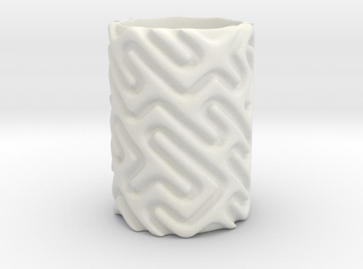 MazeMug 3d printed