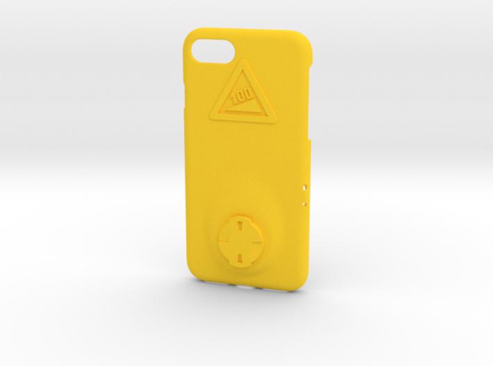 iPhone 7 Wahoo Mount Case - Hill Climb 3d printed