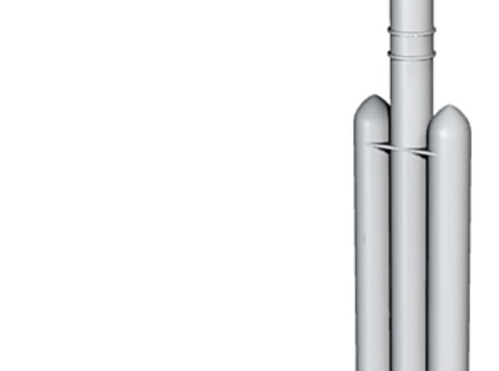 1/700 Delta IV Rocket (Medium Payload) 3d printed 1/700 Delta IV Rocket (Medium Payload)