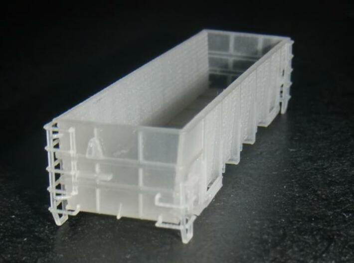 G1 Phosphate Gondola N Scale With Detailed Ladders 3d printed End