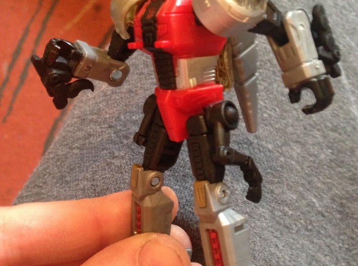 Transformers Power of the Primes Slash hip upgrade 3d printed