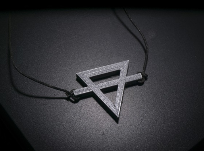Alchemical Earth Necklace 3d printed