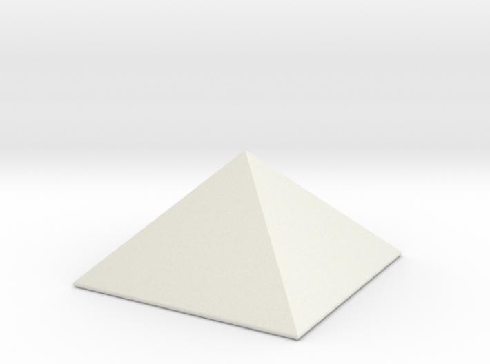 Stubby Pyramid Spike 3d printed