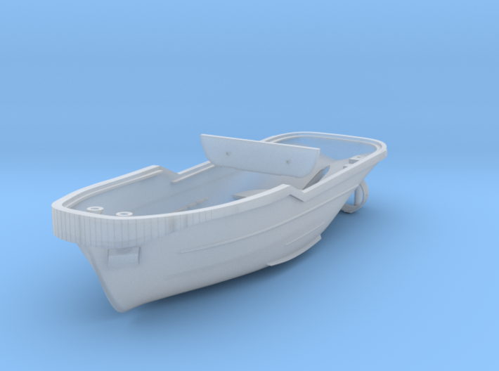 Harbor Tug Hull 1/160 N V40 (Feature complete) 3d printed