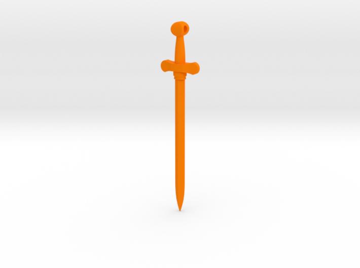 Rider-Waite Sword Pendant 3d printed