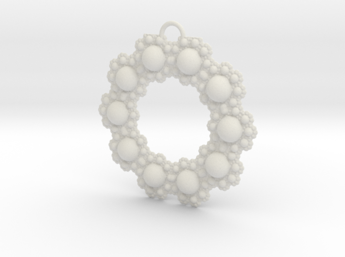 Fractal Roundness 3d printed