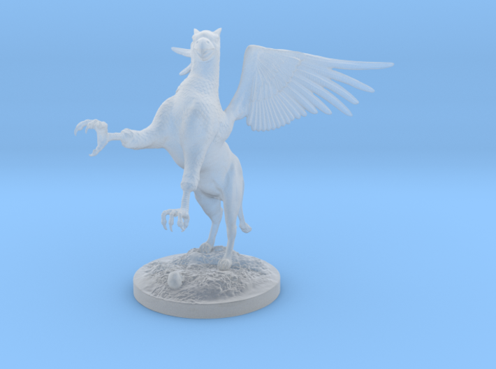 Griffin Figure 3d printed