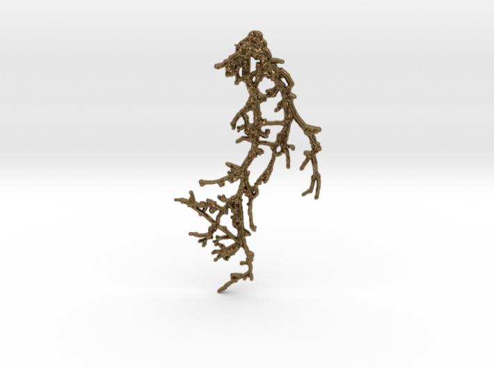 BRANCH_pendant_01 3d printed