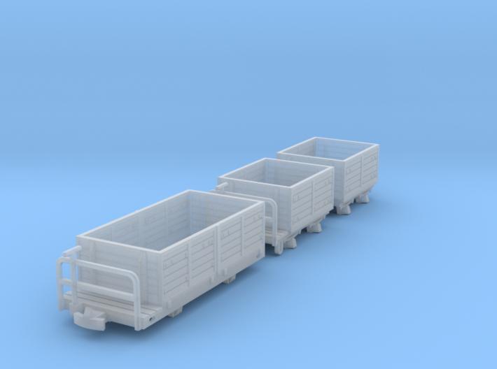 Heeresfeldbahn Goodswagon Pack 3d printed