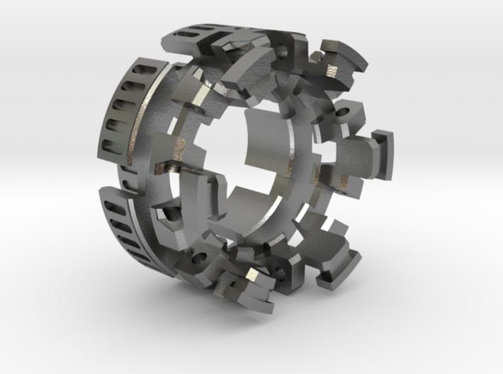 "HILT GX16 Connector Holder 1"" METAL 3d printed"