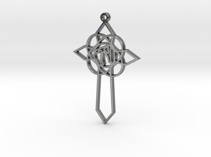 Personalised Celtic Cross Pendant 3d printed Personalised Celtic Cross Pendant