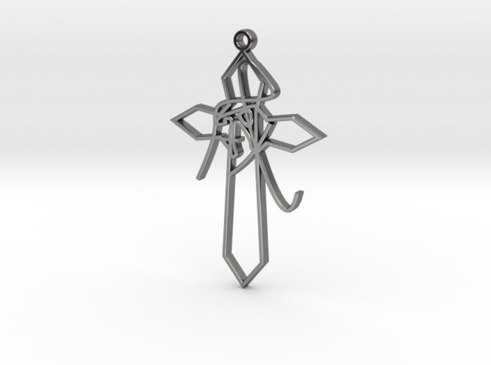 Personalised Astrological Eastern Cross Pendant 3d printed Personalised Astrological Eastern Cross Pendant