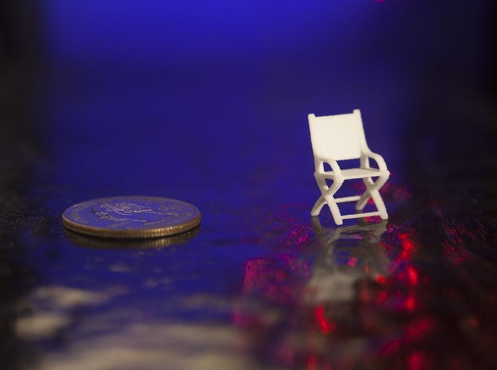 1:48 Civil War Chair 3d printed