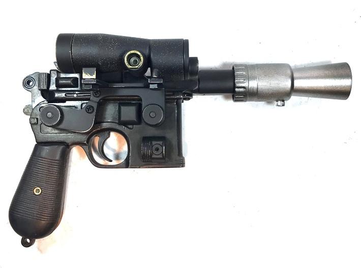 Scope mount screws 3d printed